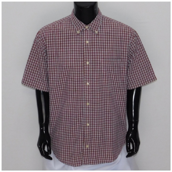 Other - Short Sleeve, Buttonup, Plaid, size Large